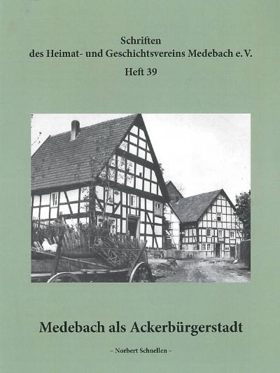 Medebach als Ackerbürgerstadt
