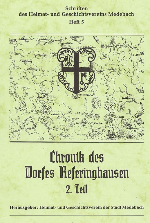 Chronik des Dorfes Referinghausen II