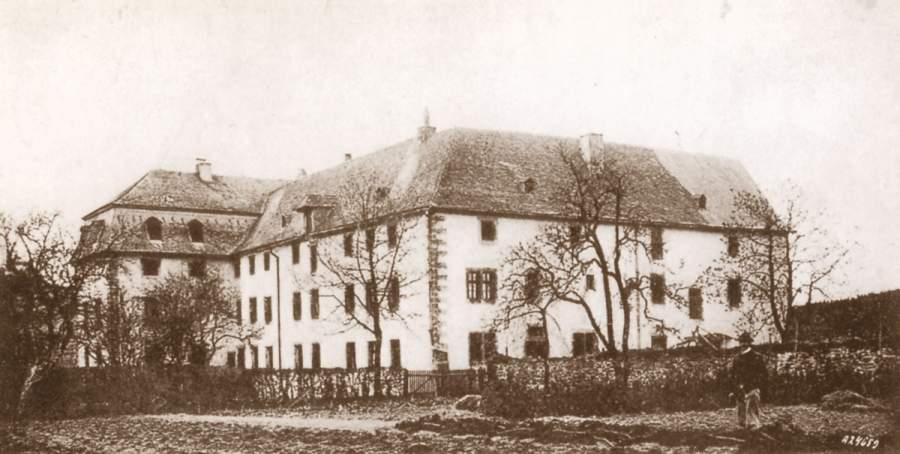 Das Konventgebäude des Klosters Glindfeld (Foto 1910)