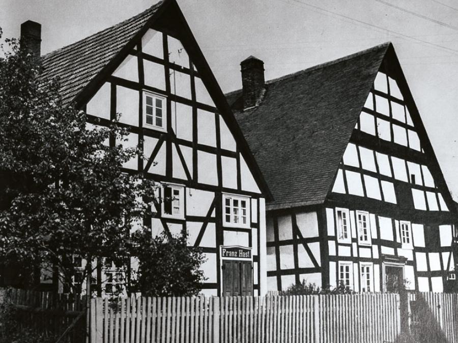 Noch bestehende Häuser Hast und Decker´s (Koebe)