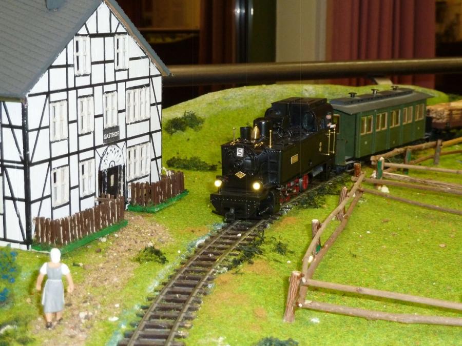 Kleinbahn Ausstellung im Museum